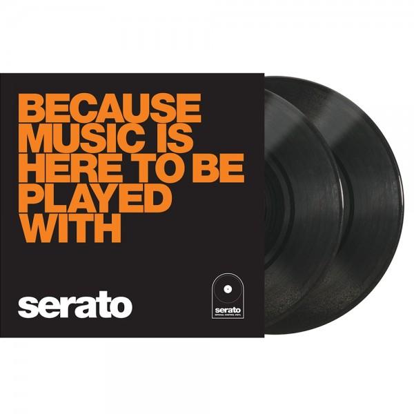 """Serato Manifesto 10"""" Control Vinyl schwarz BOM"""