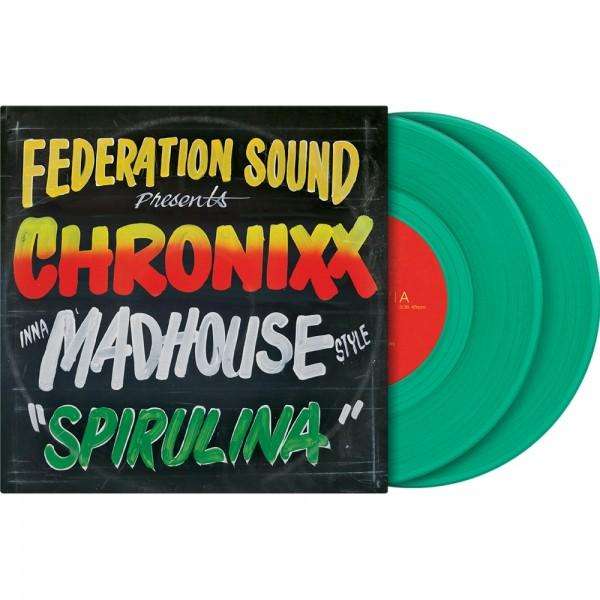 "Serato 2x7"" Control Vinyl Chronixx Spirulina"