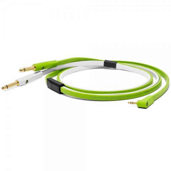 Oyaide 6,3mm Klinke/3,5mm Stereo-Mini-Klinke, 2,5m