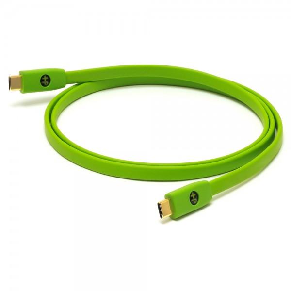 Oyaide d+ USB 2.0 Typ-C/-C Kabel Class B