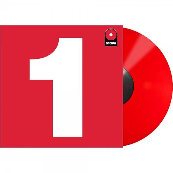 "Serato 12"" Single Performance-Serie rot"