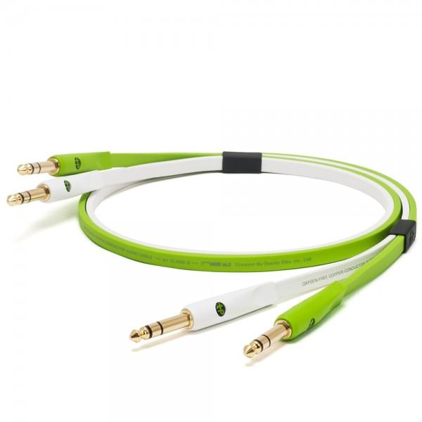 Oyaide d+ Audiokabel 6,3mm TRS/TRS 1m