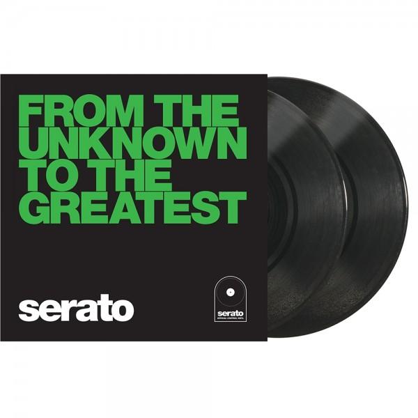 "Serato Manifesto 10"" Control Vinyl schwarz UN"