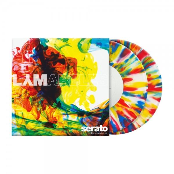 "Serato 2x 7"" LYM-Clear Control Vinyl Pressung"