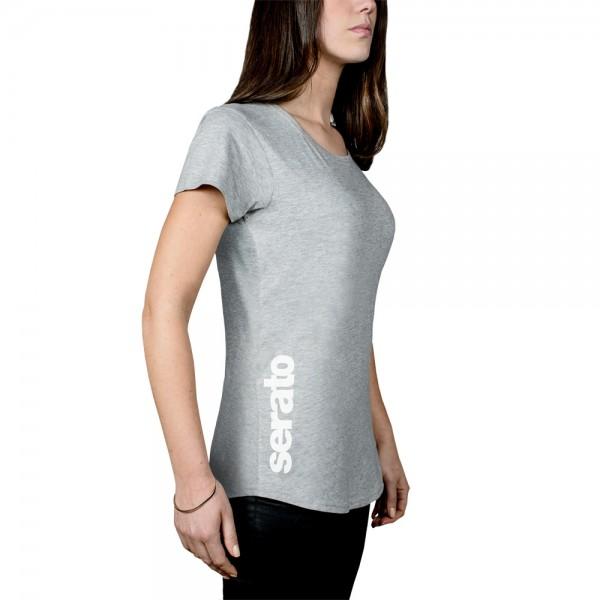 Serato Logo Women T-Shirt grau