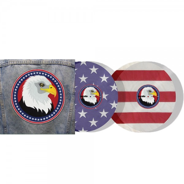 "Serato 2x12"" USA Country limited Control Vinyl"