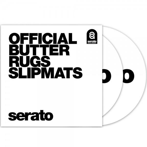 "Serato 12"" Butter Rugs Slipmats weiß"
