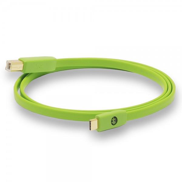 Oyaide d+ USB 2.0 Typ-C/-B Kabel Class B, 0,7m