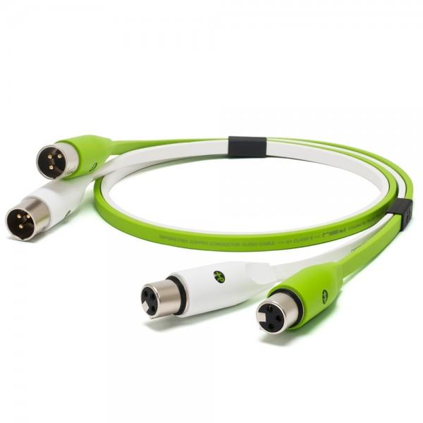 Oyaide d+ Audiokabel XLR-F/XLR-M 1m