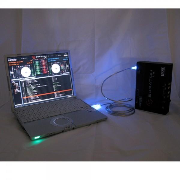 USB Anschlusskabel Set Blau & Grün
