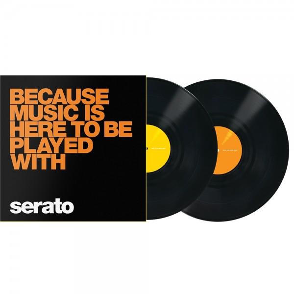 """Serato Manifesto 12"""" Control Vinyl schwarz BOM"""
