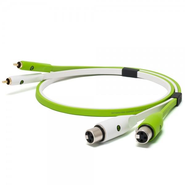 Oyaide d+ Audiokabel XLR-F/RCA 1m