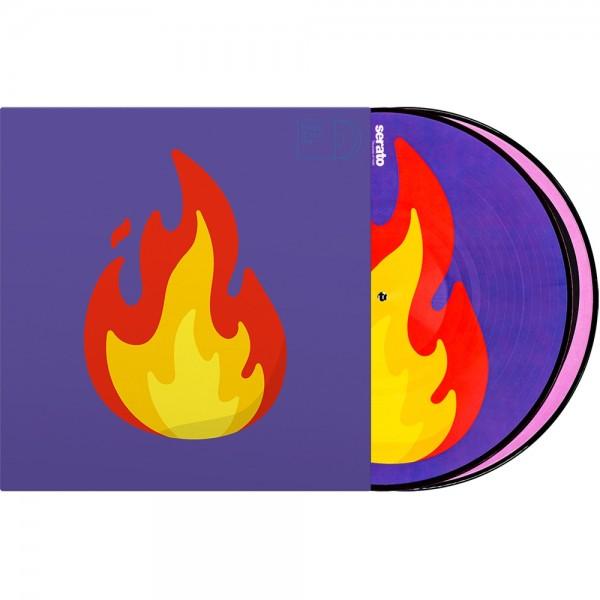 """Serato 2x12"""" Emoji Picture Vinyl Pressung """"Flame/Record"""""""