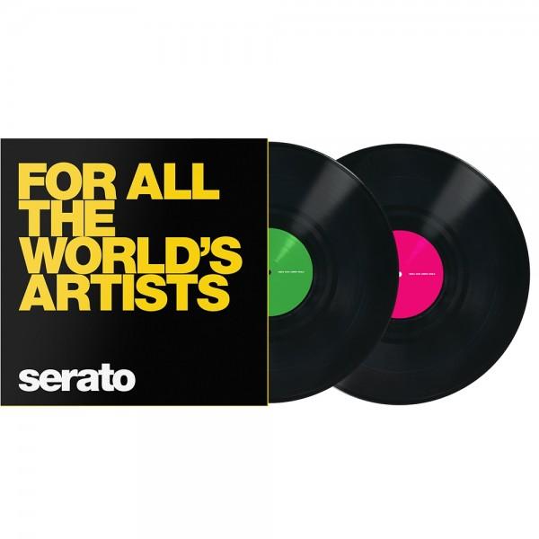 "Serato Manifesto 12"" Control Vinyl schwarz WA"