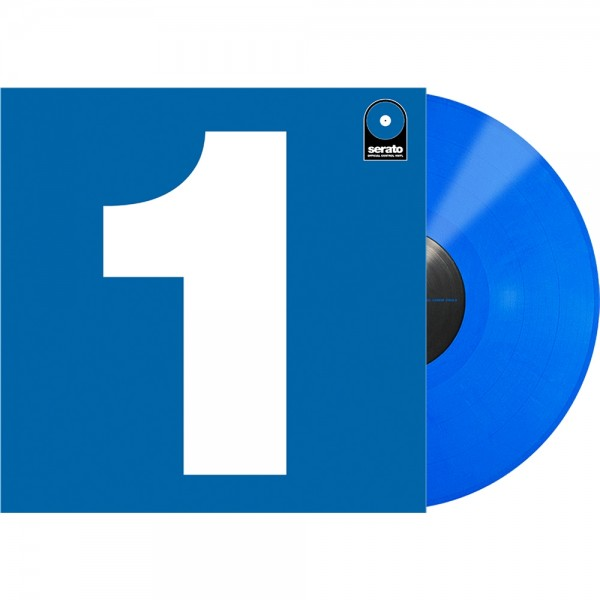 "Serato 12"" Single Performance-Serie blau"