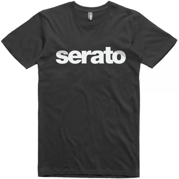 Serato Logo Mens T-Shirt schwarz