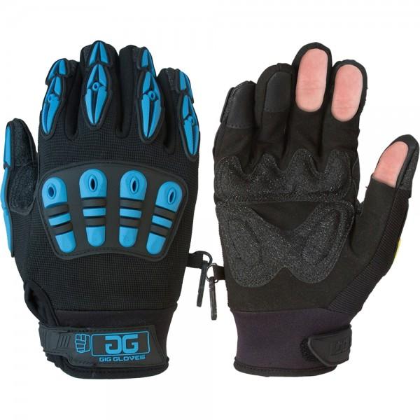 GigGear Thermo Arbeitshandschuhe schwarz/blau, 2XL