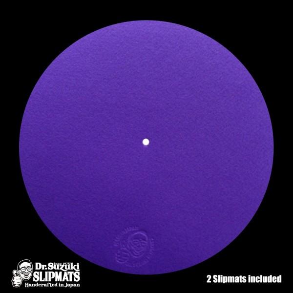 """Dr.Suzuki 12"""" Slipmats Mix-Edition Purple"""
