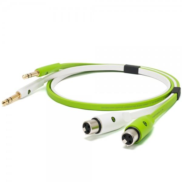 Oyaide d+ Audiokabel XLR-F/TRS 1m