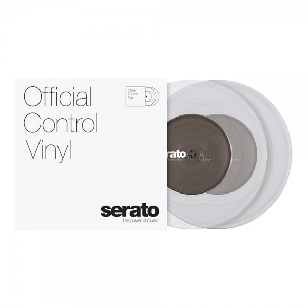 "Serato 7"" Performance-Serie Clear"