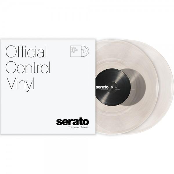 """Serato 2x10"""" Control Vinyl Clear"""