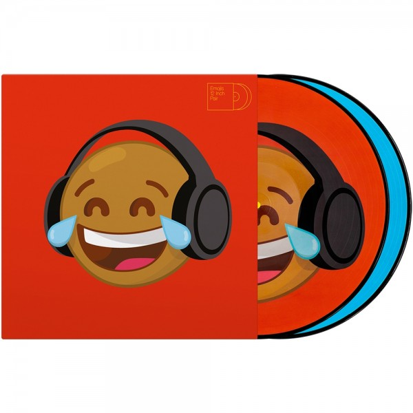 "Serato 2x12"" Emoji Picture Vinyl Pressung ""Thinking/Crying"""