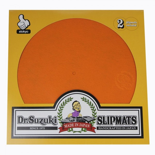 "Dr.Suzuki 12"" Slipmats Mix-Edition Orange"