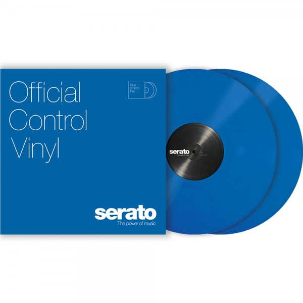 Serato Performance-Serie Control Vinyl blau