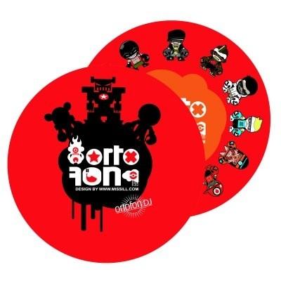ORTOFON Slipmat Set Missill Toys