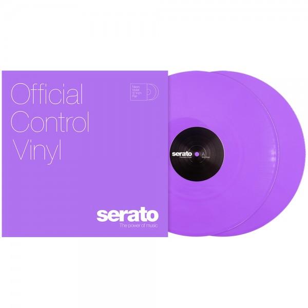"Serato 2x12"" Neon-violet Control Vinyl"