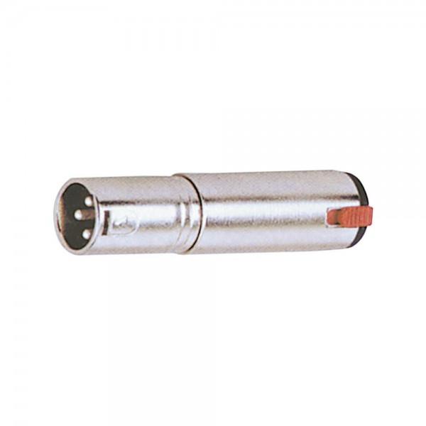 Mark MCAA-216 XLR-M auf TRS-F Klinke Adapter