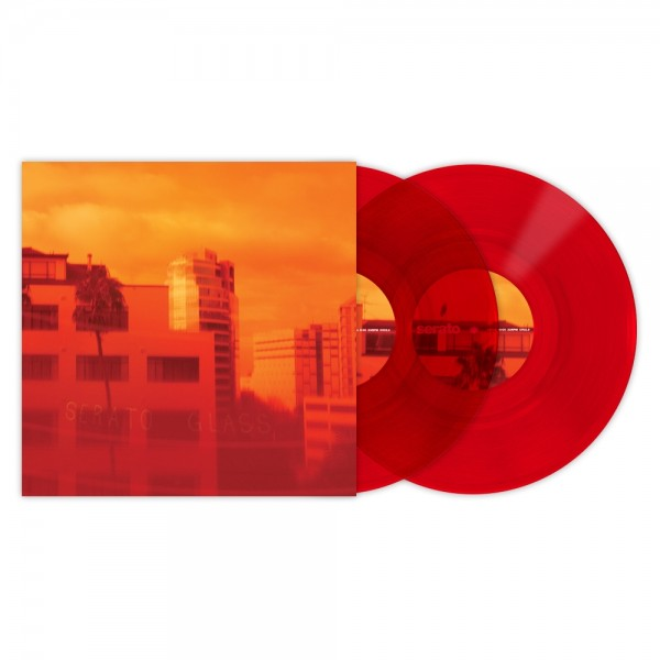 "Serato 10"" Control Vinyl Red Glass"