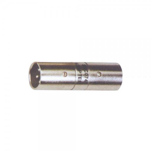 Mark MCAA-211 XLR-M auf XLR-M Adapter