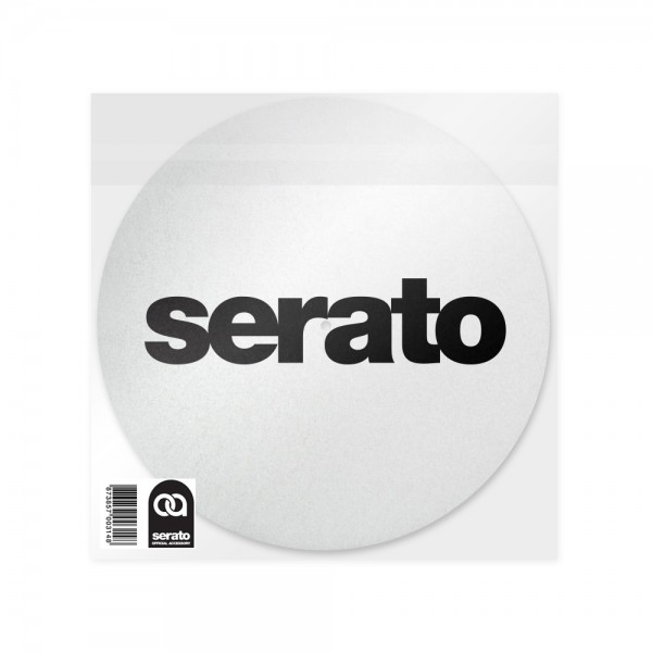 "Serato 12"" Slipmat White Edition"