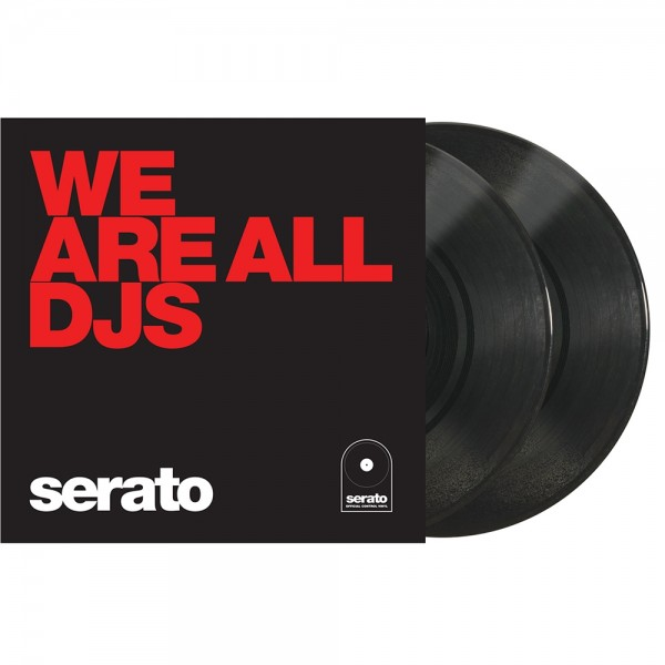 "Serato Manifesto 10"" Control Vinyl schwarz DJ"