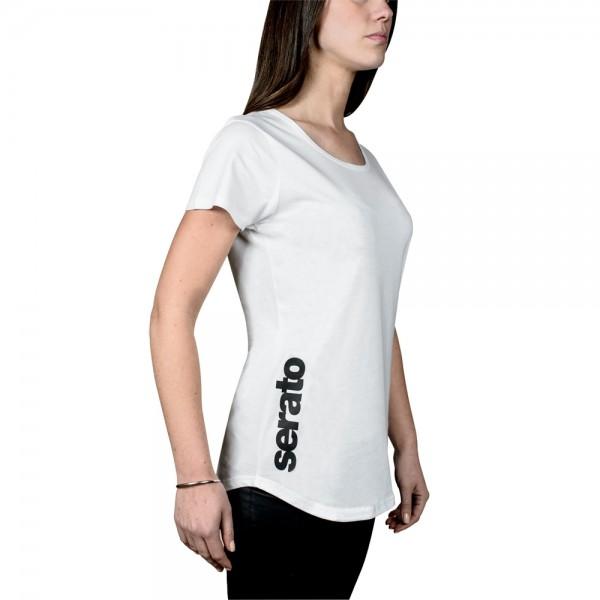 Serato Logo Women T-Shirt weiß